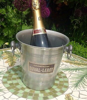 Vintage French Champagne / Wine / Ice Bucket - Champagne Duval-Leroy