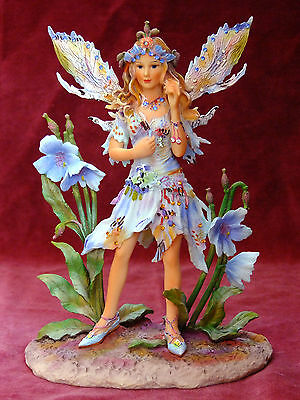 "The Leonardo Collection. ""blue Poppy Faerie""  By Christine Haworth."
