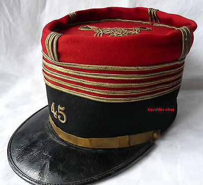 Képi de colonel du 45ème RI casque 14 18 1914 ww1 french helmet uniforme guerre