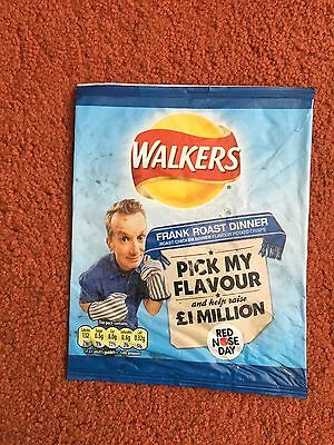 Walkers Red Nose Day Crisp Packets