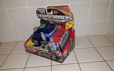 Transformers RPMS Optimus Prime Autobot Hasbro 2009 Neuf Collection. En boîte.