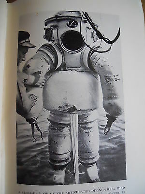 Deep Underwater Salvage Diving 1934 HB Dive Book oop rare 70 Fathoms