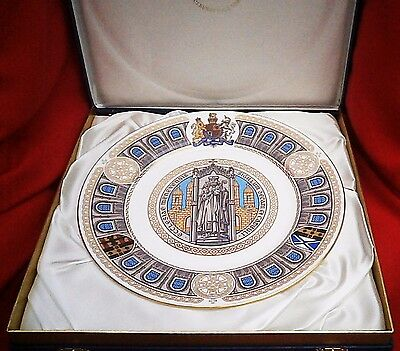 The St Davids Cathedral Commemorative Plate by Spode