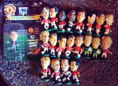 21 Manchester United Joblot Collection Loose Carded Corinthian Football Figures