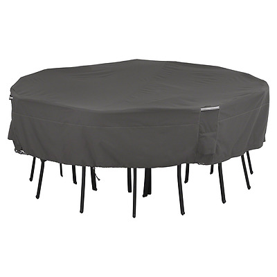 Classic Accessories 55-194-015101-EC Ravenna Patio Square Table and Chairs Cover
