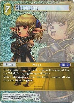 "Final Fantasy Tcg: Shantotto 1-107L.""foil"""