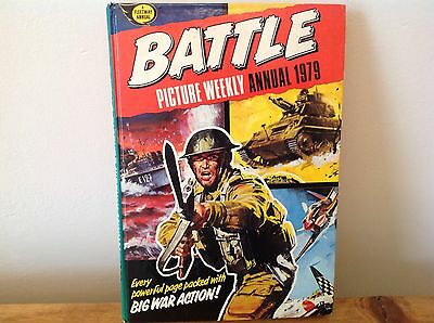 Battle 1979 Picture Weekly Annual