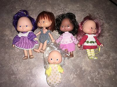 Vintage Strawberry Shortcake Dolls Lot