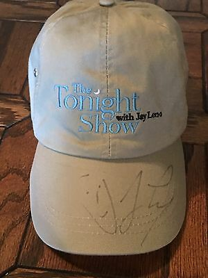 The Tonight Show with Jay Leno Autographed Baseball Hat Cap