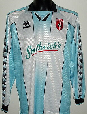 Derry City Northern Ireland Irish match worn issue shirt jersey maillot porté