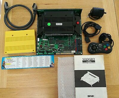 Rare Consolized SNK Neo Geo MVS bundle
