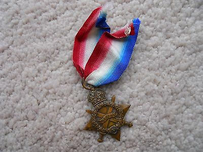 Royal Scottish 1914-15 Star Medal
