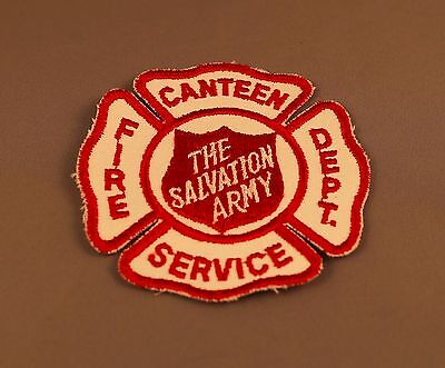 Salvation Army Fire Dept. Canteen Service patch