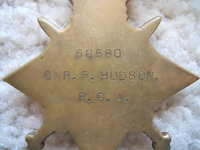 Ww1 Medal 1914-15 Star Full Size Original --------