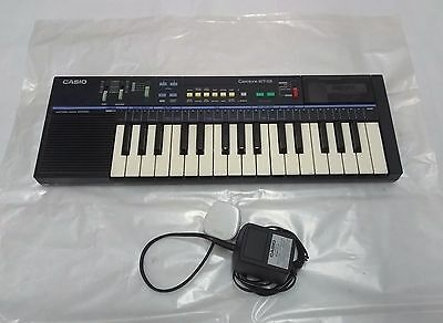 Vintage 1980`s Casio Casiotone MT-28 + Removable ROM Pack RO-554 'Family Songs'