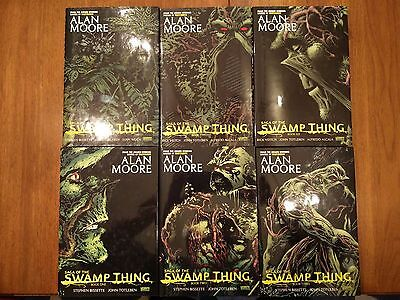 DC Sage of the Swamp Thing by Alan Moore Omnibus Hardcover HC FULL SERIES RARE