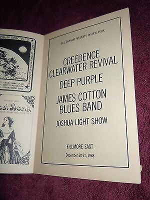 Creedence Clearwater Revival (Fogerty) Deep Purple (Blackmore) 68 Fillmore East