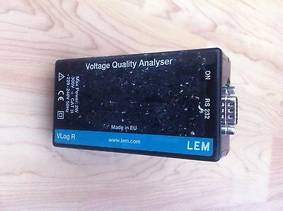 LEM HEM vlogQ power analyser