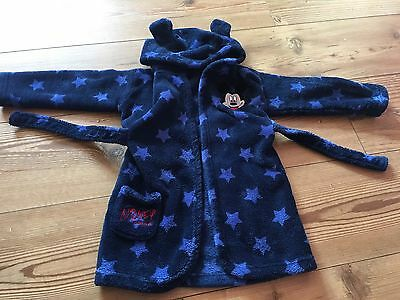 Mickey Mouse Dressing Gown 12-18 Months