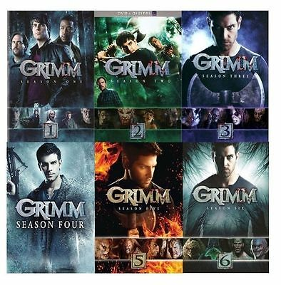 Grimm: The Complete Seasons 1-6 (DVD, 2017, 29-Disc Set) 1 2 3 4 5 6
