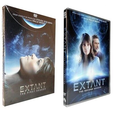 Extant: The Complete Seasons 1 & 2 (DVD, 2015, 8-Disc Set)