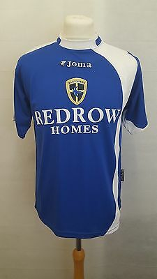 Cardiff City Fc Shirt Joma Home Size Xs - 2005/2006 Blue - Koumas Era