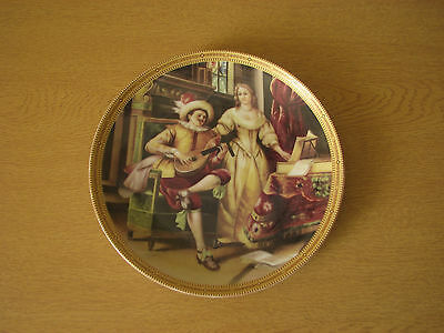 Thun 1794 collectors plate  a man playing Lute , made in Czechoslovakia, c1960s