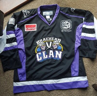 Braehead Clan ice hockey shirt jersey eishockey trikot top