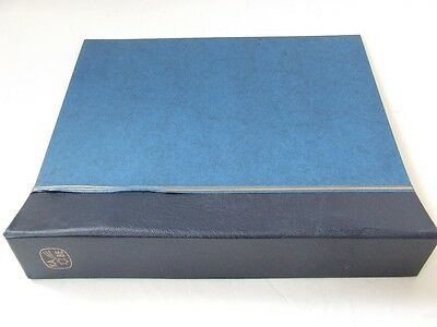 Kabe Large Capacity 2-Peg Stamp Album, Very Good Condition