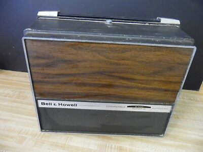BELL & HOWELL Compatible 8MM-Super 8 Autoload Projector w/ INSTRUCTION BOOK