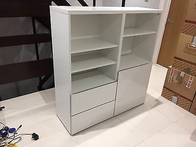 Ikea bookcase storage unit with drawers picclick uk for Ikea bookcase with drawers