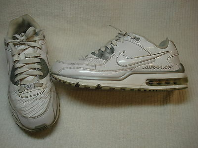 Men's Nike Air Max Wright leather casual  shoes size 10.5 white