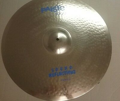 "PAISTE 2000 22"" Power Ride sound reflections Vintage"