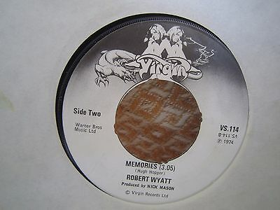 "ROBERT WYATT - ""I'm A Believer / Memories"" 7"" UK RECORD Vinyl Single VS114 1974"