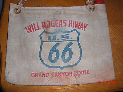 VTG ANTIQUE CIRCA Art Deco WILL ROGERS HIWAY ROUTE 66 HoT RAT ROD 40S 50S 60S