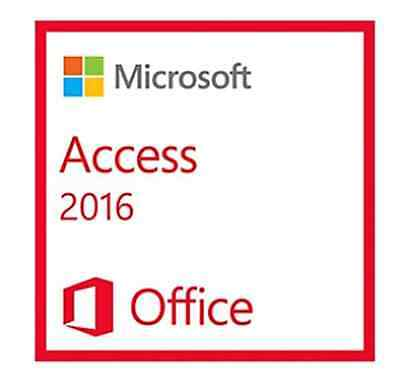 Microsoft Access 2016 Genuine Retail Key & Download