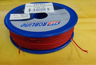 TWINES - WHIPPING TWINE - 80M - RED - No 8 - 342202 -