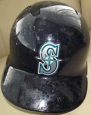 2016 Leonys Martin Game Used Helmet Seattle Mariners MLB Auth. Photomatched!