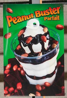 Dairy Queen Promotional Poster For Backlit Menu Sign Peanut Buster Parfait dq2