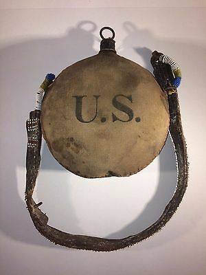 US ARMY 14th INFANTRY CANTEEN - CIVIL WAR - INDIAN WARS - SIOUX WAR TROPHY
