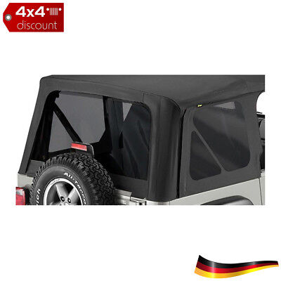Tinted Window Kit for Replace-a-Top, Europa Jeep Wrangler TJ 2003/2006