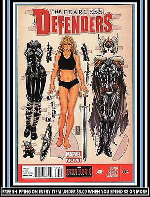 Fearless Defenders #4 | (July 2013) | Marvel NOW! Comics | *VaLKYRie* | (VF 8.0)