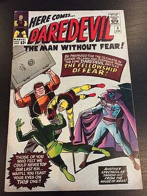Daredevil #6 Marvel Silverage Comic book Yellow suit