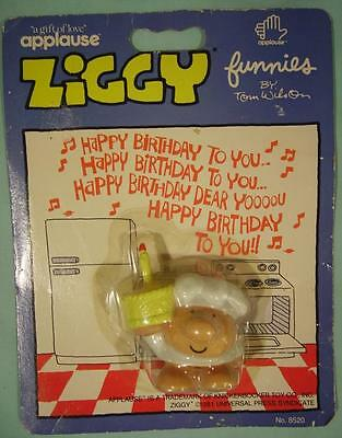 """1981 Applause Ziggy """"Happy Birthday to You"""" -  New On Card"""