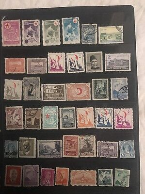 stamps Turkey - MH and Used - Lot 502