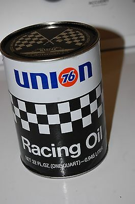 Vintage union 76 nascar racing oil can Full