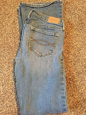 Abercrombie &Fitch Size 14 Slim Stretch Jeans For Girls