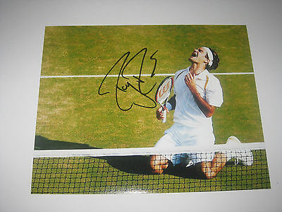 Roger Federer Tennis Champion - Signed 10X8 Photo A - Company Authentication