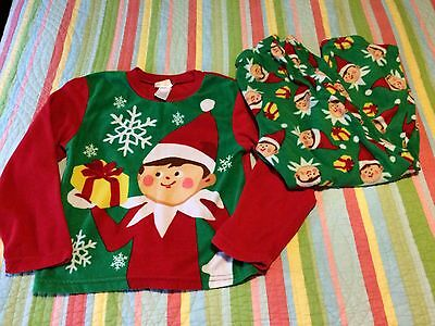 🎄 Elf On The Shelf Pajamas Christmas Size 10