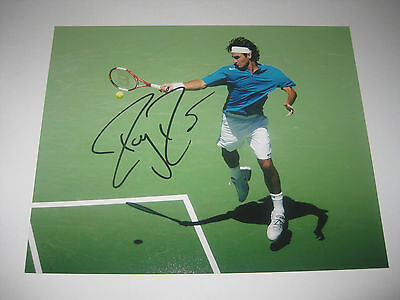 Roger Federer Tennis Champion - Signed 10X8 Photo C - Company Authentication